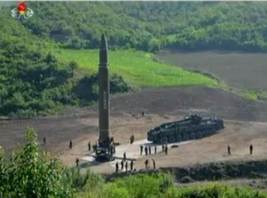 美媒:美情报显示朝鲜正在准备进行新的导弹试射