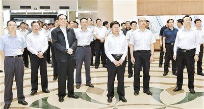 河北党政代表团赴新疆学习考