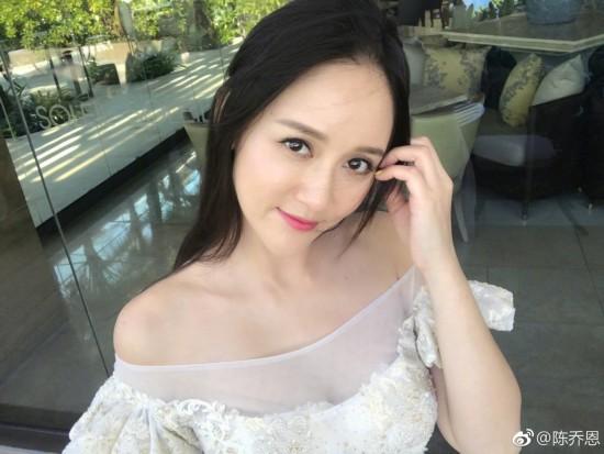 陈乔恩度假感慨人生 网友们表示姐姐太美了