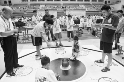 FIRA机器人世界杯中国公开赛举行