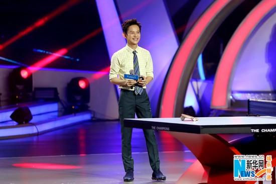 《来吧冠军2》迎来乒乓对决 贾乃亮助阵冠军队