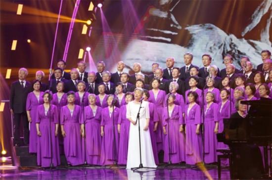 清华大学上海校友艺术团半决赛献唱-致敬前辈爱国情 清华学霸艺术团图片