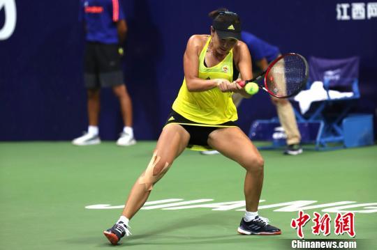 江西网球公开赛正式打响彭帅鏖战161分钟晋级首轮(图)