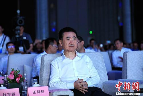 资料图:万达集团董事长王健林出席某活动。 <a target='_blank'  data-cke-saved-href='http://www.chinanews.com/' href='http://www.chinanews.com/' _fcksavedurl='http://www.chinanews.com/'></table><p  align=