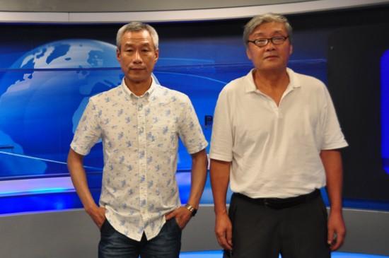 《龙之战》主演刘佩琦导演高峰做客 号召90后走进电影院了解历史