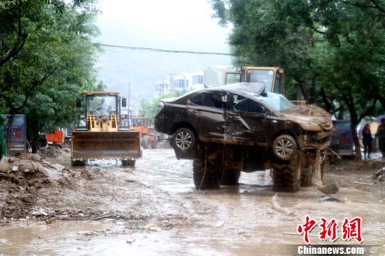 陕西绥德洪灾已造成6人遇难86人受伤