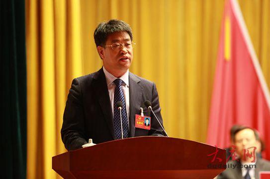 任贵生发表了讲话。记者 刘为强 孙娜 摄