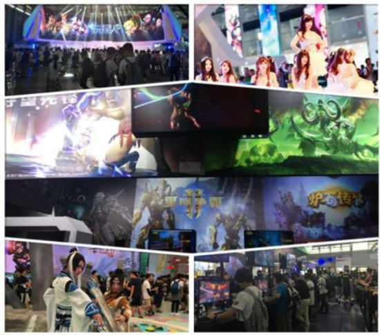 The dazzling ChinaJoy Huizhong game animation take you see the doorway of teachers and students