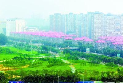 北京首个楔形绿地城市公园明春开放 打通城市北部送风廊道