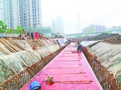 武汉和谐大道(姑嫂树路―金桥大道)排水实现雨污分流