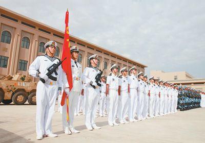驻吉布提保障基地部队进驻营区 我国首个海外