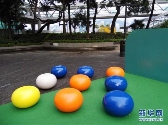 """香港推出""""城市艺裳计划:乐坐其中""""公共艺术项目"""