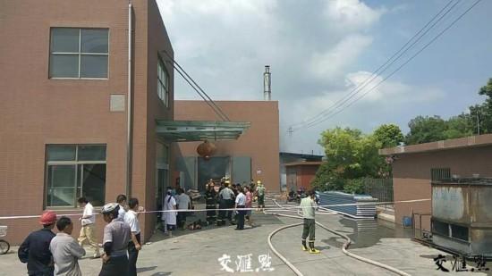 扬中一合金厂发生火灾 火已扑灭无人员伤亡