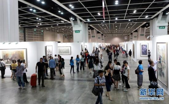"""(文化)(1)""""全球水墨画大展""""在香港举行"""
