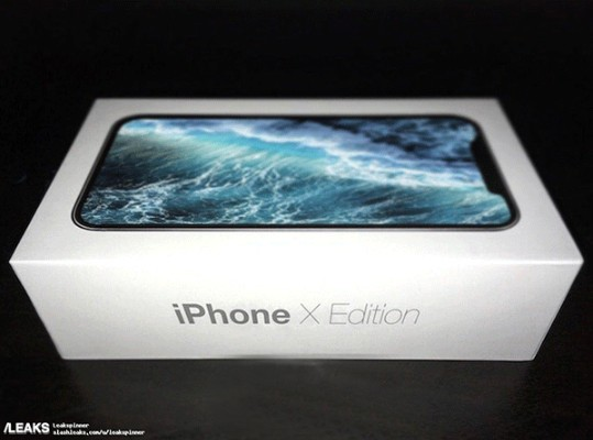 iPhone 8名字土?苹果新品包装盒疑曝光
