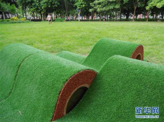 """(XHDW)(2)香港推出""""城市艺裳计划:乐坐其中""""公共艺术项目"""