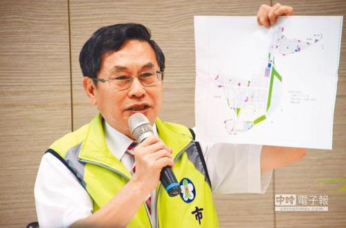 嘉义市长涂醒哲与前卫生局长黄维民撕破脸,用人争议再添一桩。(图片来源:台湾《中时电子报》)