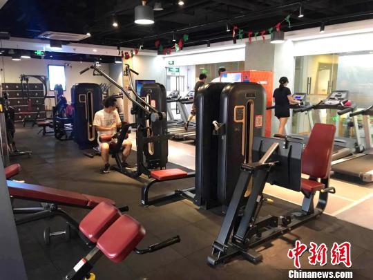 百元月费扫码开门上海24小时健身房受青睐