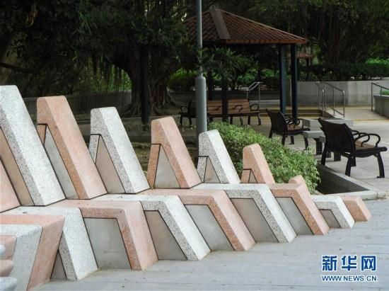 """(XHDW)(3)香港推出""""城市艺裳计划:乐坐其中""""公共艺术项目"""