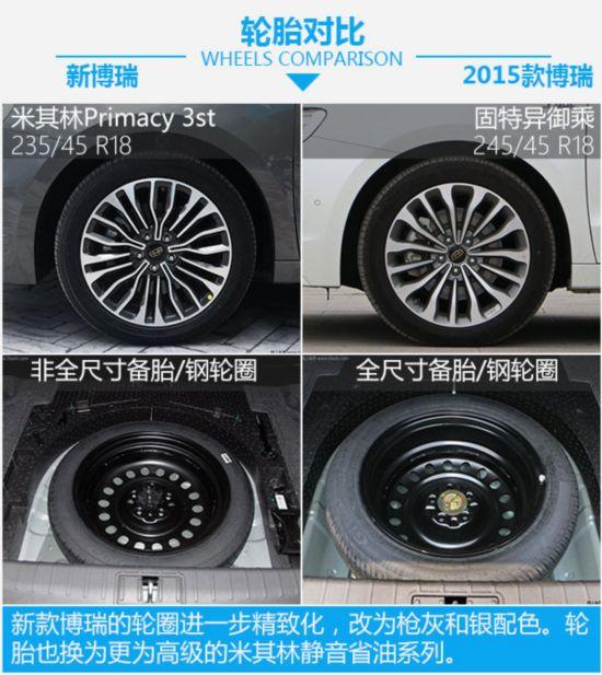 中国品牌的领导者 吉利博瑞新老车型对比-图6