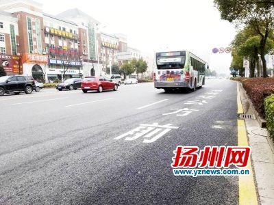 扬州将开通邗江路公交快线 建设公交专用道