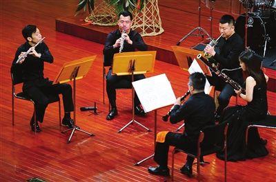 """""""沐·风""""木管五重奏在天津首秀"""
