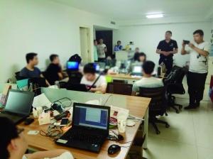 """江苏邳州破案件 94万手机被绑架成刷粉""""肉鸡"""""""