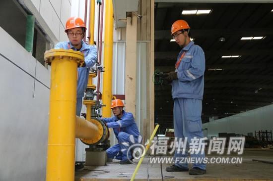 """福州各县市推行""""煤改气"""" 让更多乡镇用上天然气"""