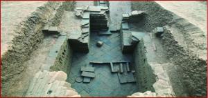 南京发现东晋家族墓 出土铜印上刻琅琊国