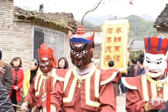 """泰宁""""大源傩""""民俗文化节,我们走起!"""