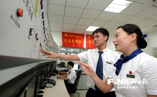 """福州地铁1号线南门兜站有支""""金牌""""服务队 做优做细服务"""