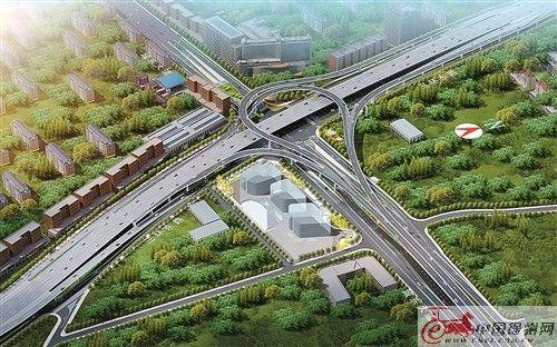 徐州第五条高架快速路城东大道高架快速路开建