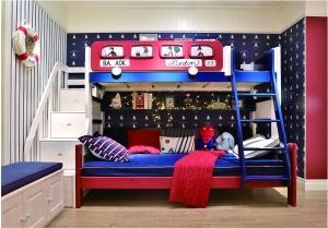 暑期儿童家具市场不温不火高低床和多功能课桌热销