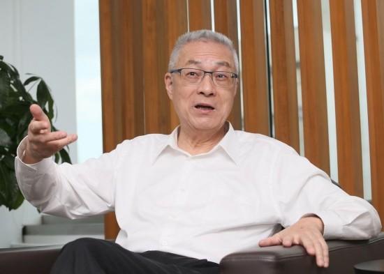 吴敦义:没听过朱立伦说2018不选台北市长