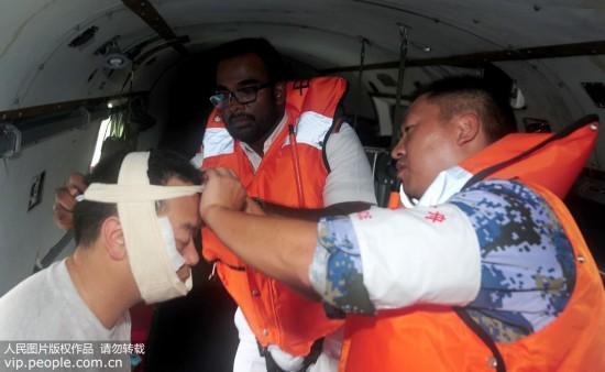 和平方舟与斯里兰卡海军首次举行国际人道主义医疗救援联合演练【4】