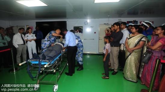 和平方舟与斯里兰卡海军首次举行国际人道主义医疗救援联合演练【5】