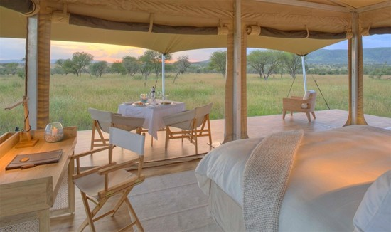 肯尼亚奢华帐篷营地。HHtravel鸿鹄逸游供图