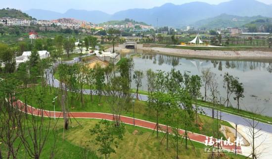 福州涧田湖公园基本建成 景观绿化收尾工作本月结束
