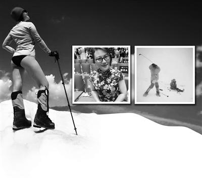 苏州姑娘成功攀登慕峰 7546米顶峰打高尔夫