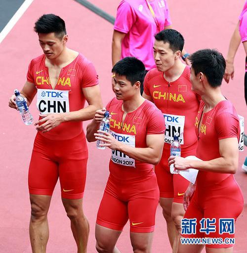 阵容调整一波三折中国男队晋级世锦赛4X100米接力决赛
