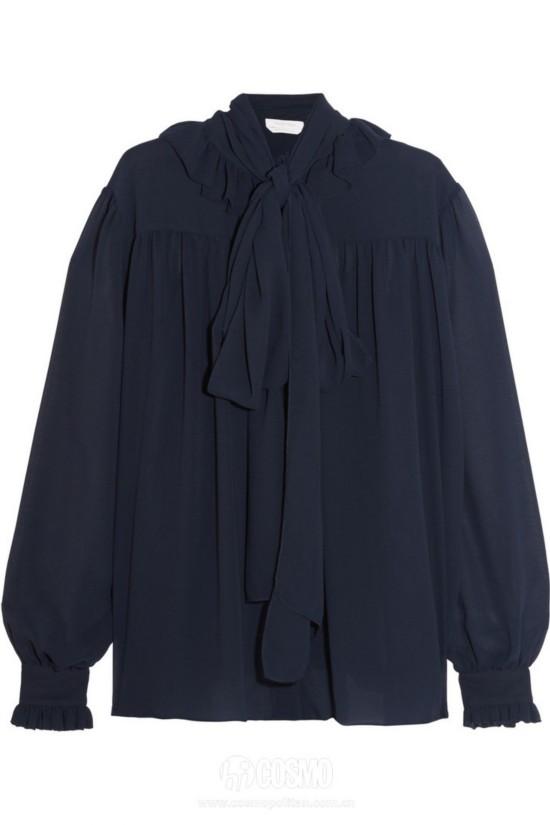 衬衫来自See by Chloé 售价2892元 可从英国NET-A-PORTER购买