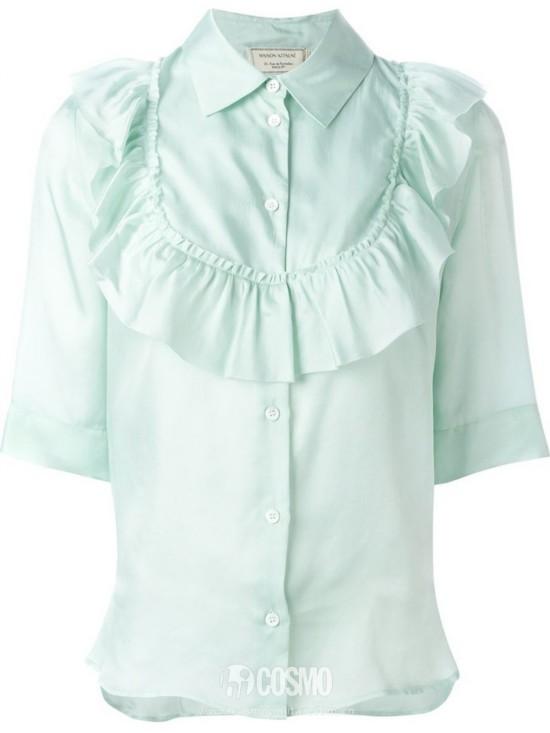 衬衫来自Maison Kitsuné 售价957元 可从英国Farfetch购买