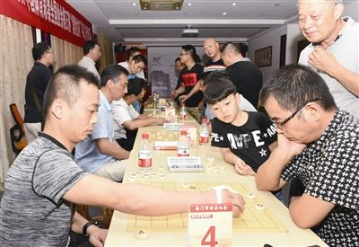 百名南通海门选手参加全国业余棋王预赛