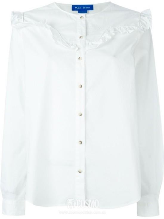 衬衫来自MiH 售价1376元 可从英国Farfetch购买