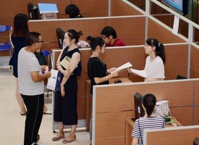 """海安企业单位提供逾千岗位吸引毕业生""""淘工作"""""""