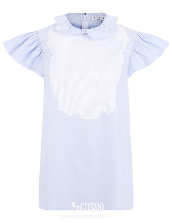 上衣来自VIVETTA 售价1260元 可从英国Avenue 32购买