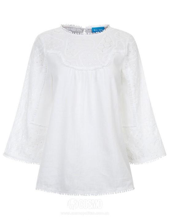 衬衫来自M I H JEANS 售价1276元 可从英国Avenue 32购买
