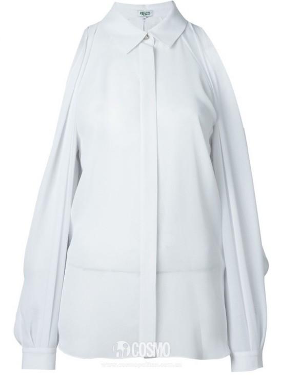 衬衫来自Kenzo 售价1875元 可从英国Farfetch购买