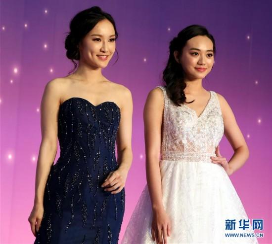 (服务)(3)香港结婚节上演婚纱汇演