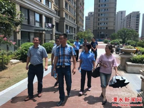 南京溧水最严格水资源管理制度落实情况迎检查